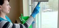Мойка стекол, очистка оргтехники